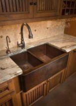 Cool farmhouse kitchen sink remodel ideas 30