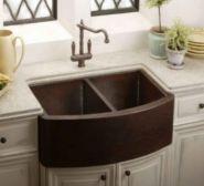 Cool farmhouse kitchen sink remodel ideas 39