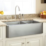 Cool farmhouse kitchen sink remodel ideas 43