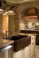 Cool farmhouse kitchen sink remodel ideas 44