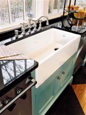 Cool farmhouse kitchen sink remodel ideas 47