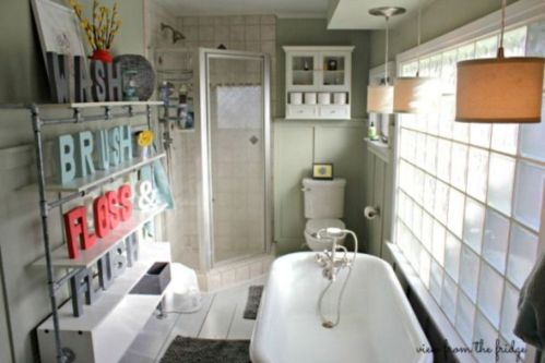 Creative diy bathroom makeover ideas 09