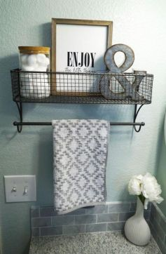 Creative diy bathroom makeover ideas 16