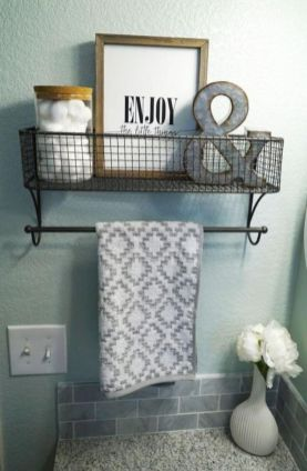 Creative diy bathroom makeover ideas 16