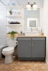 Creative diy bathroom makeover ideas 18