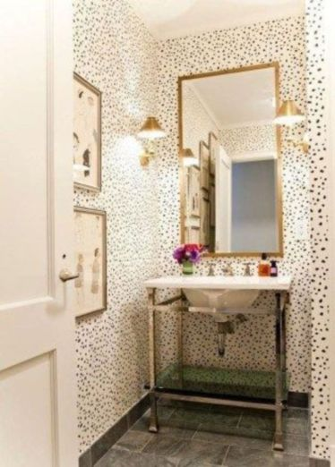 Creative diy bathroom makeover ideas 25
