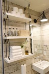 Creative diy bathroom makeover ideas 28