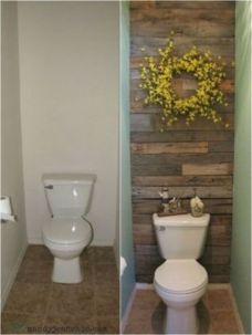 Creative diy bathroom makeover ideas 29