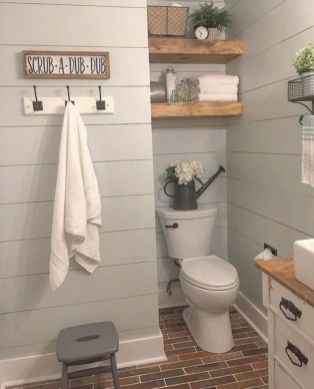 Creative diy bathroom makeover ideas 32