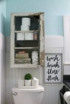 Creative diy bathroom makeover ideas 34