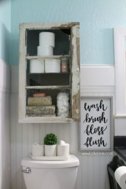 Creative diy bathroom makeover ideas 34