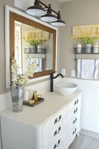 Creative diy bathroom makeover ideas 36