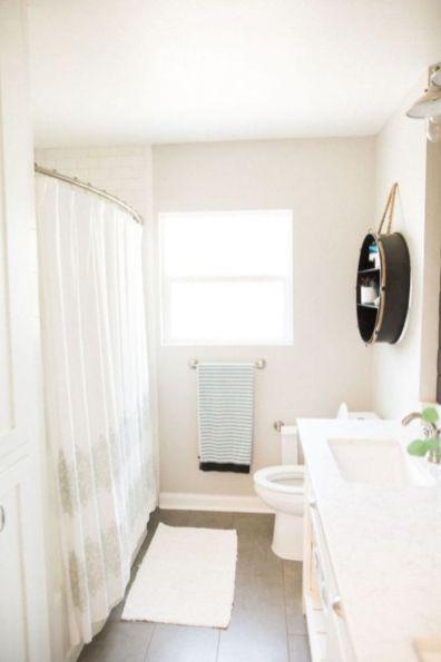 Creative diy bathroom makeover ideas 47