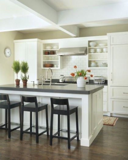 Cute kitchen remodels with white cabinets 06