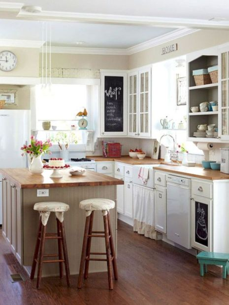 Cute kitchen remodels with white cabinets 09