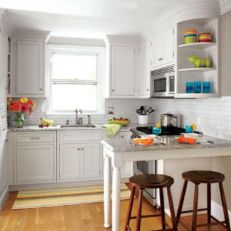 Cute kitchen remodels with white cabinets 15