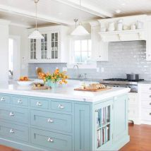 Cute kitchen remodels with white cabinets 24