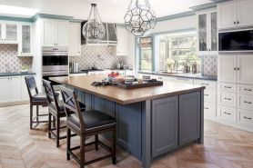 Cute kitchen remodels with white cabinets 34