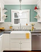 Cute kitchen remodels with white cabinets 42