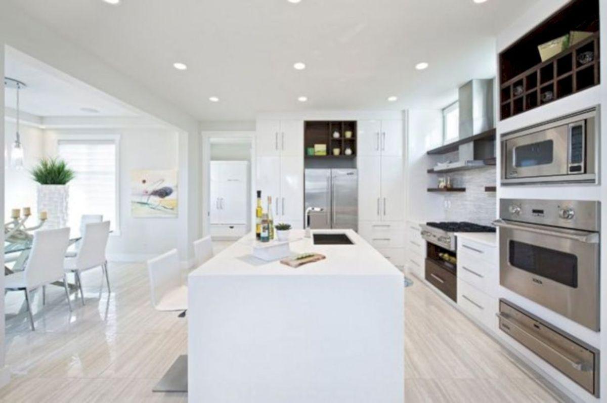 Fabulous all white kitchens ideas 25