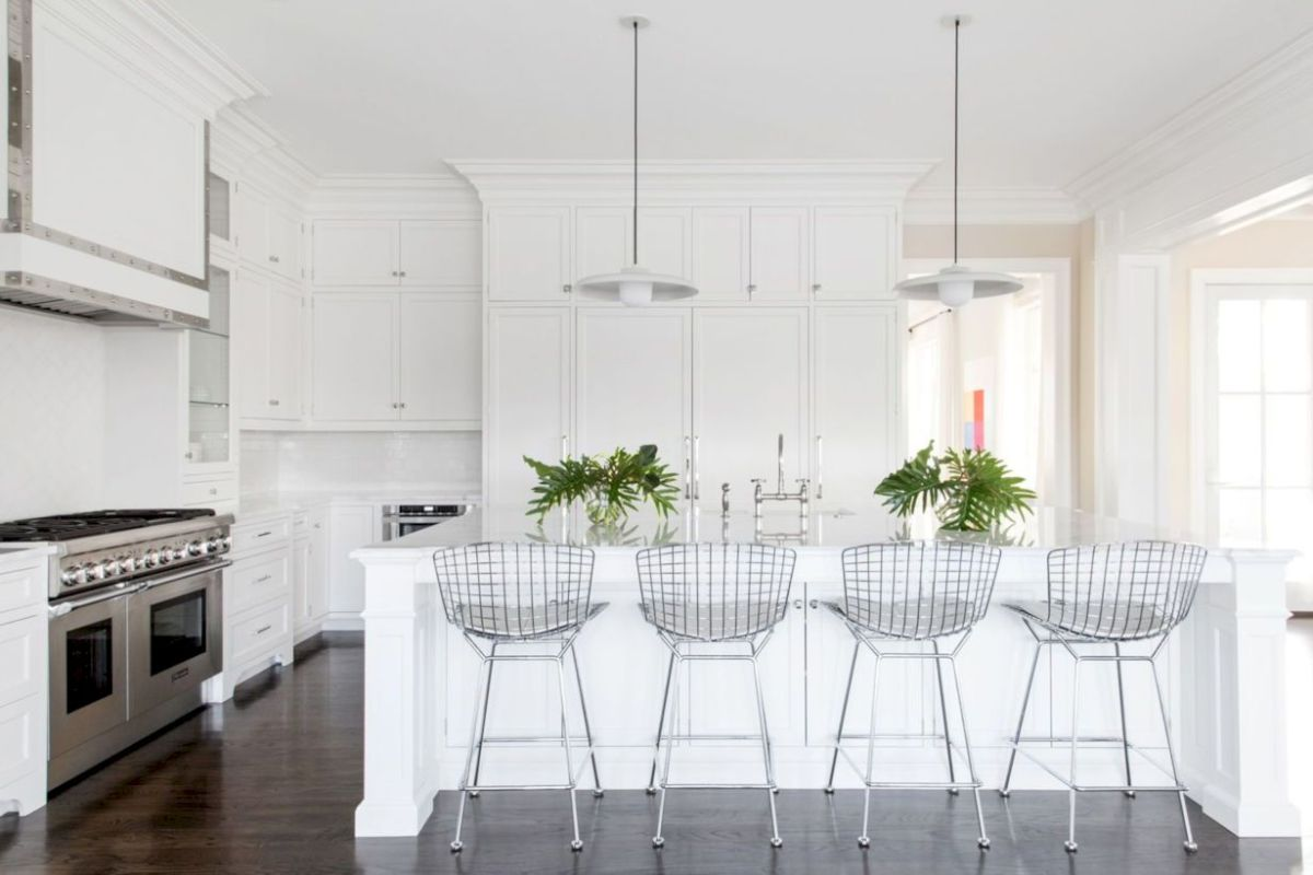 Fabulous all white kitchens ideas 28