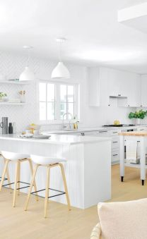 Fabulous all white kitchens ideas 31