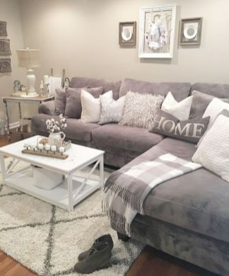 Fabulous farmhouse living room decor design ideas 05