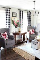 Fabulous farmhouse living room decor design ideas 20