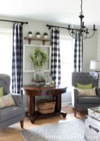 Fabulous farmhouse living room decor design ideas 37