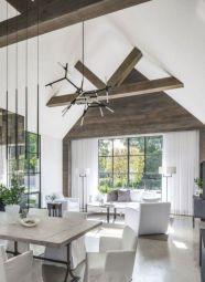 Gorgeous farmhouse living room decor design ideas 02