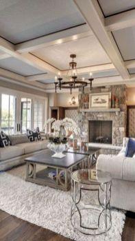 Gorgeous farmhouse living room decor design ideas 23