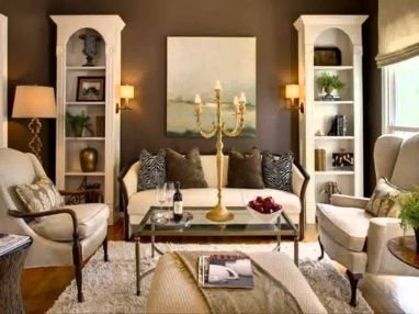 Gorgeous farmhouse living room decor design ideas 41