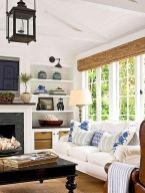 Gorgeous farmhouse living room decor design ideas 45