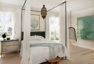 Gorgeous minimalist elegant white themed bedroom ideas 11