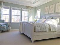 Gorgeous minimalist elegant white themed bedroom ideas 27