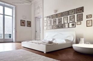 Gorgeous minimalist elegant white themed bedroom ideas 29