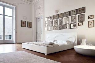 Gorgeous minimalist elegant white themed bedroom ideas 29