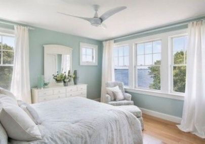 Gorgeous minimalist elegant white themed bedroom ideas 35