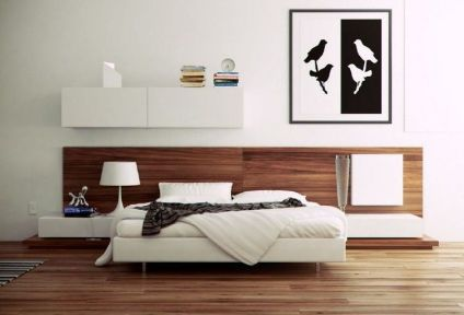 Gorgeous minimalist elegant white themed bedroom ideas 37