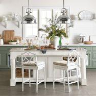 Impressive farmhouse country kitchen decor ideas 43