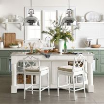 Impressive farmhouse country kitchen decor ideas 43