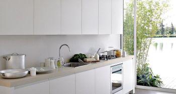 Impressive kitchens with white appliances 07
