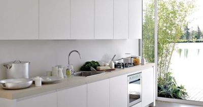 Impressive kitchens with white appliances 07