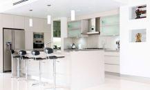 Impressive kitchens with white appliances 30