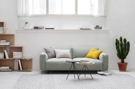 Inspiring minimalist sofa design ideas 25