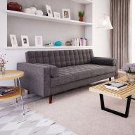 Inspiring minimalist sofa design ideas 44