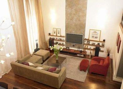 Inspiring small living room apartment ideas 43
