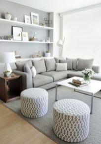 Inspiring small living room apartment ideas 57