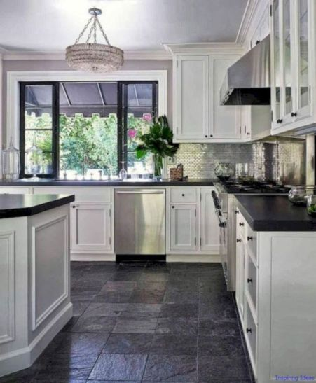 Most popular grey and white kitchen curtains ideas 19