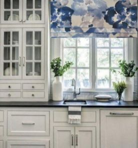 Most popular grey and white kitchen curtains ideas 21